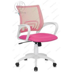 Кресло Бюрократ CH-W695N пластик белый