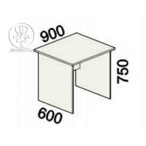 Стол рабочий Альфа 61 (62,63).20