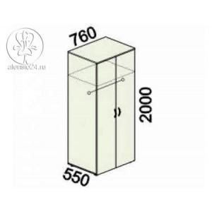 Шкаф для одежды большой с замком Альфа 61 (62,63).42