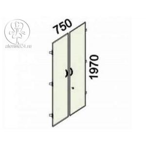 Двери 5 секций с замком Альфа 61 (62,63).58