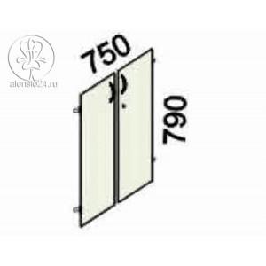 Двери 2 секции с замком Альфа 61 (62,63).59