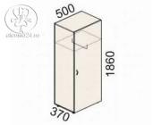 Гардероб однодверный Рубин 41(42).34