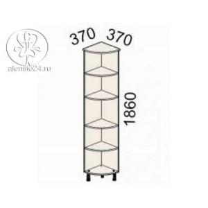 Стеллаж угловой Рубин 41(42).35