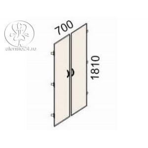 Двери на 5 секций Рубин 41(42).36
