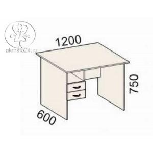 Стол однотумбовый Рубин 41(42).42