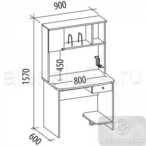 Орион 2.10 стол компьютерный