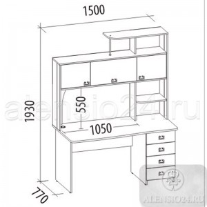 Орион 6.10 стол компьютерный