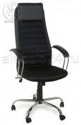 Кресло Элегия L2 сетка черная, хром