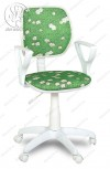 Кресло Форум 2 КР ткань белый пластик