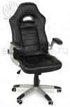 Кресло Y-2738 черный (пластик серебро)
