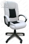 Кресло CX-0653H10 светлое, вставки черная сетка