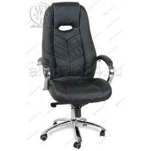 Кресло руководителя RT-331-1 кожзам, хром, мультиблок
