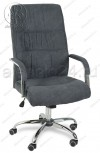 Кресло руководителя RT-333A ткань темно-серый, хром