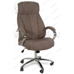 Кресло руководителя RT-359 ткань темно-серый, хром