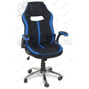 Кресло геймерское RT-521 ткань, основание хром