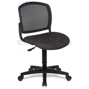 Кресло Бюрократ CH-296 NX/15-21 спинка сетка черный сиденье черный 15-21
