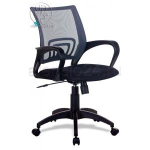 Кресло Бюрократ CH-695N/BLACK спинка сетка черный TW-01 сиденье черный TW-11