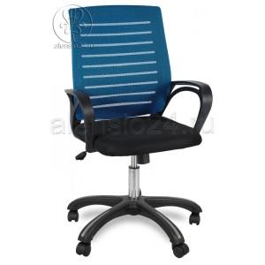 Кресло МИ-6 пластик черный
