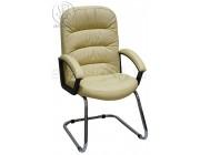 Кресло Фортуна П (062) бежевый на полозьях