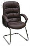 Кресло Фортуна П (062) коричневый на полозьях