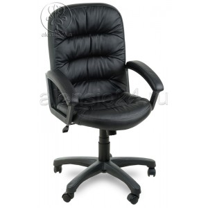 Офисное кресло руководителя Фортуна 6 (2) черная