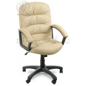 Офисное кресло руководителя Фортуна 6 (2) бежевое