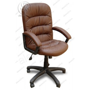 Офисное кресло руководителя Фортуна 6 (2) коричневое