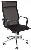 Кресло RT-01Q сетка черная, хром
