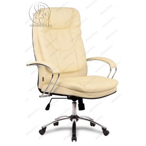 Кресло Метта LK-11 Ch 720 эко-кожа бежевая