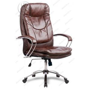 Кресло Метта LK-11 Ch 723 эко-кожа коричневая