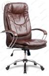 Кресло LK-11 Ch 723 эко-кожа коричневая