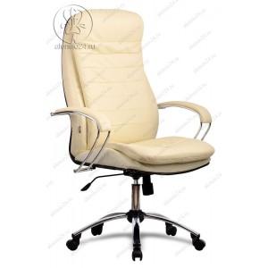Кресло Метта LK-3 Ch 720 эко-кожа бежевая