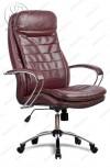 Кресло LK-3 Ch 722 эко-кожа бордовая