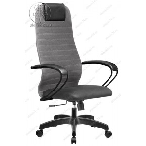 Кресло SU-BP-10 сетчатая ткань темно-серая