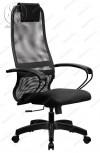 Кресло SU-BP-8 сетчатая ткань темно-серая