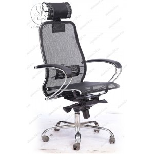Кресло Samurai S-2.04 черный