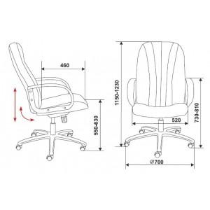Кресло T-898AXSN/Grey серое