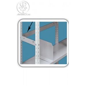 Планка ограничительная для полок металлического стеллажа